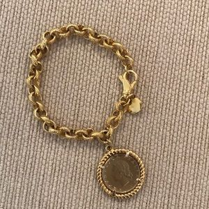 Jewelry - Gold coin bracelet fashion jewelry